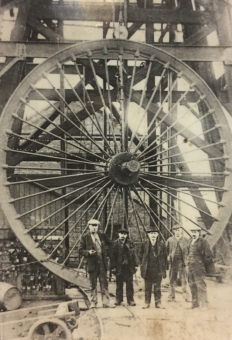 The Pithead wheel