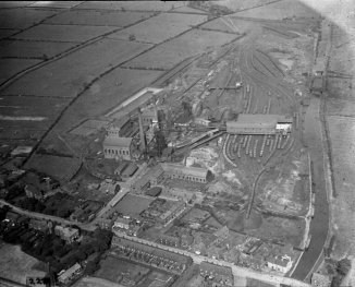 Aerial View of Colliery