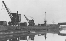 Steam Crane at Canalside